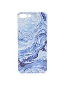 Funda para iphone 7 con estampado de mar azul