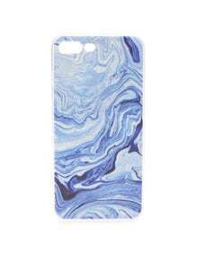 Funda para iphone 6/6S con estampado de mar azul