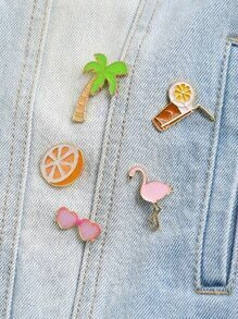 Set broche estilo playero delicado