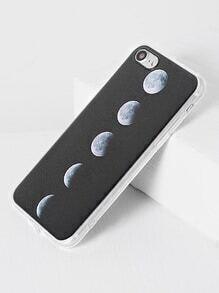 black éclipse solaire totale modèle iphone 7 cas
