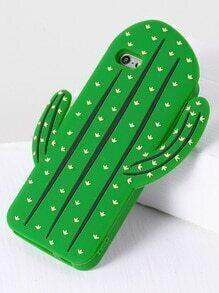de vert cactus forme iphone 6 / 6s cas
