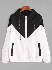 Veste à capuche avec zip