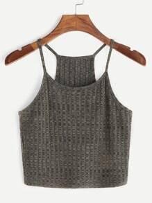T-shirt à manches courtes en laine