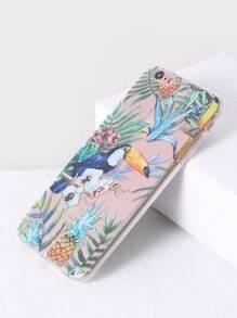 Toucan Tropical Print iPhone 6plus Case