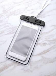 Bolsito para móvil oversize impermeable transparente
