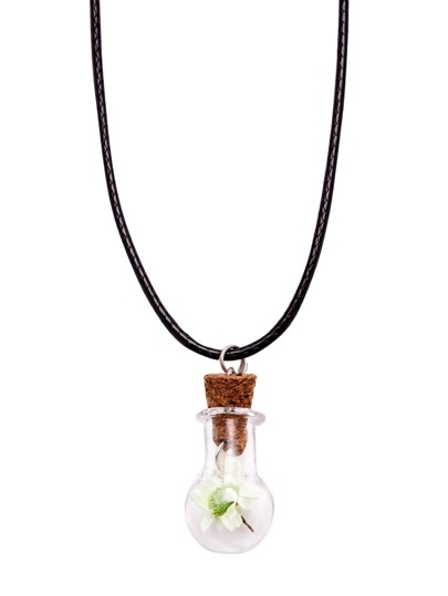 Flower Pendant Cute Necklace