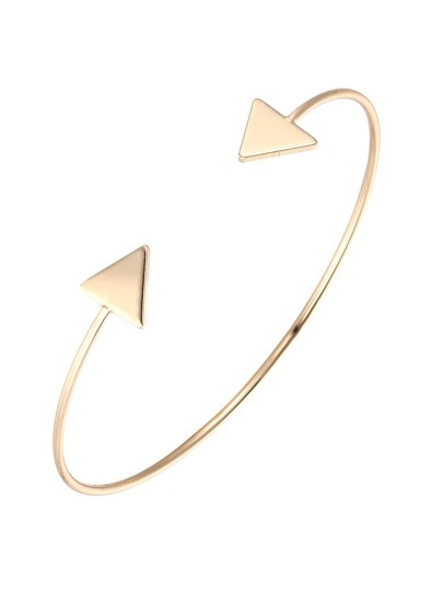 Arrow Shaped Cuff Bracelet