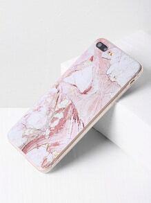 Funda para iPhone 7 plus con estampado de mármol
