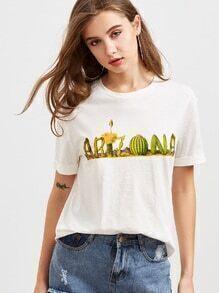 Farbenblock-Kurzschluss-Hülsen-Ernte-T-Shirt