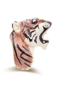 Anneau exagéré en forme de tigre