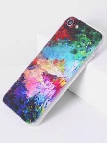Funda para iPhone 7 con estampado de acuarela