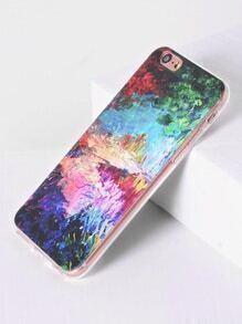 Cas de l'iPhone 6 / 6s de motif d'aquarelle
