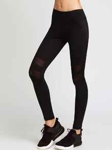 Aktive Mesh Paneled Leggings