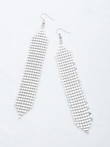 Detalle de lentejuelas Pendientes de gota