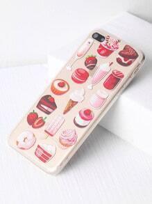 Snacks y Frutas Imprimir iPhone 7 Plus Case