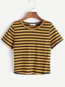 Woven Shirt dünne Streifen
