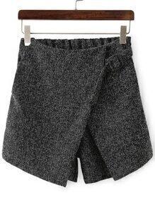 Shorts a capas cruzada delantera
