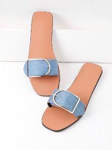 Sandales à glissière