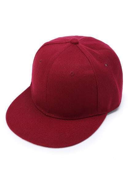 Plain Casual Baseball Hat