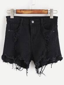 Shorts roto irregular