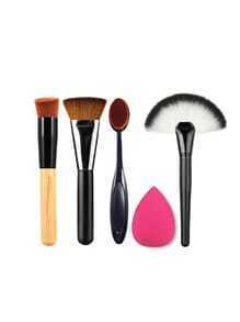 Pinceau de maquillage Set avec Puff