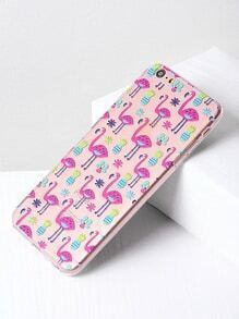 Flamingo und Ananas Print iPhone 6 Plus / 6s Plus Fall