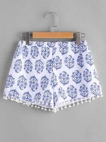 impression Shorts boules de conception