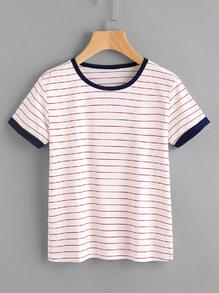 chemise rayée