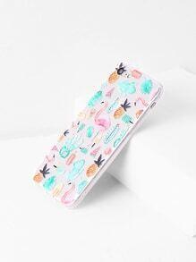 Flamingo und Pflanze Druck iPhone 7 Kasten