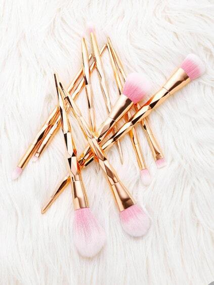 Diamond Shaped Makeup Brush 10pcs