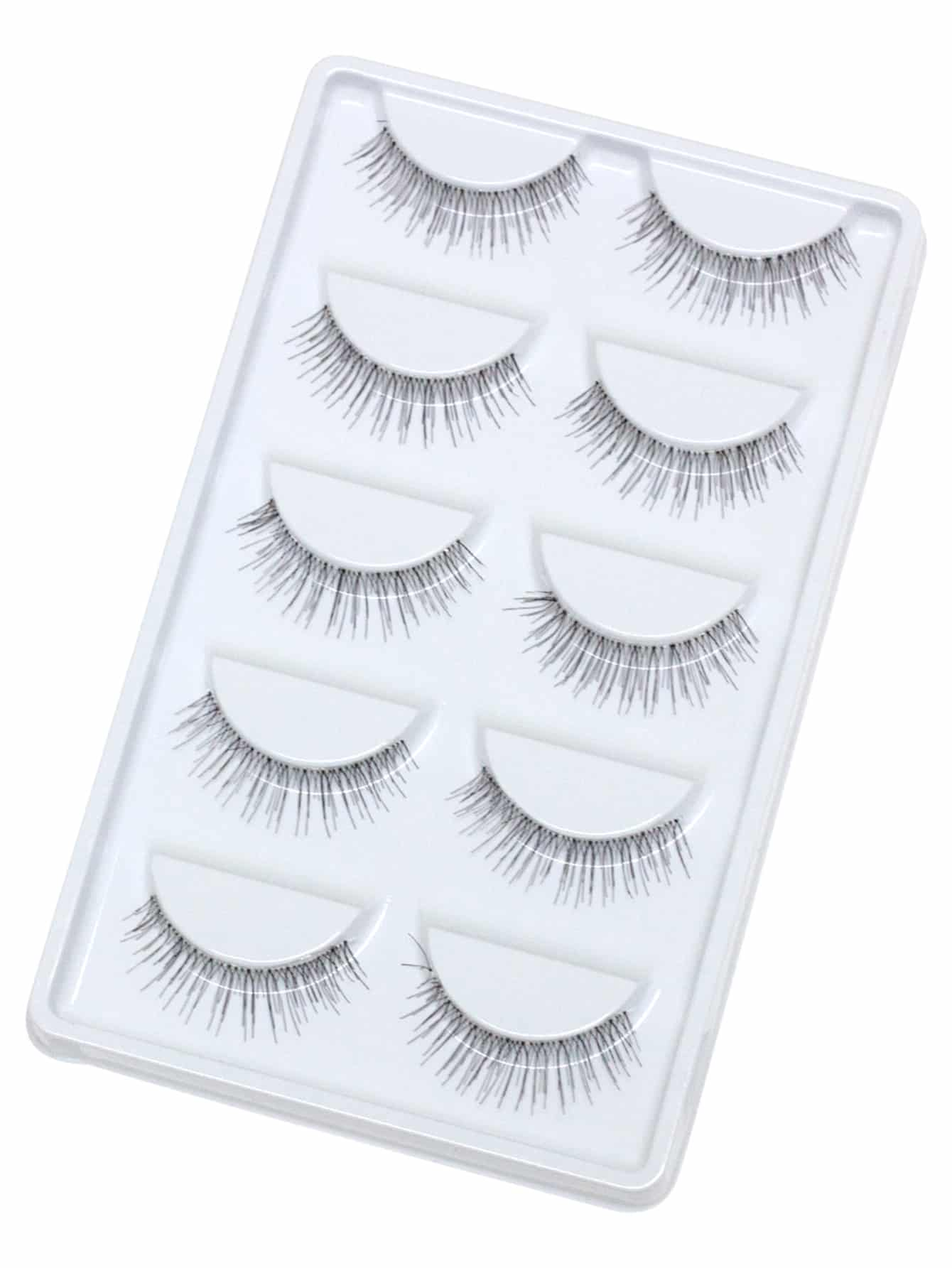 False Eyelashes 5 Pair