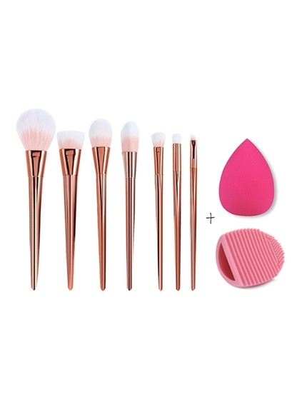 Set de brosses de maquillage avec Puff