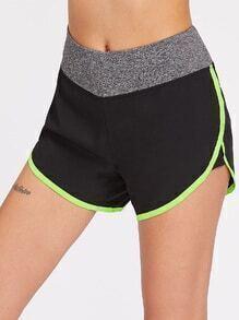 Sport Shorts Contrast