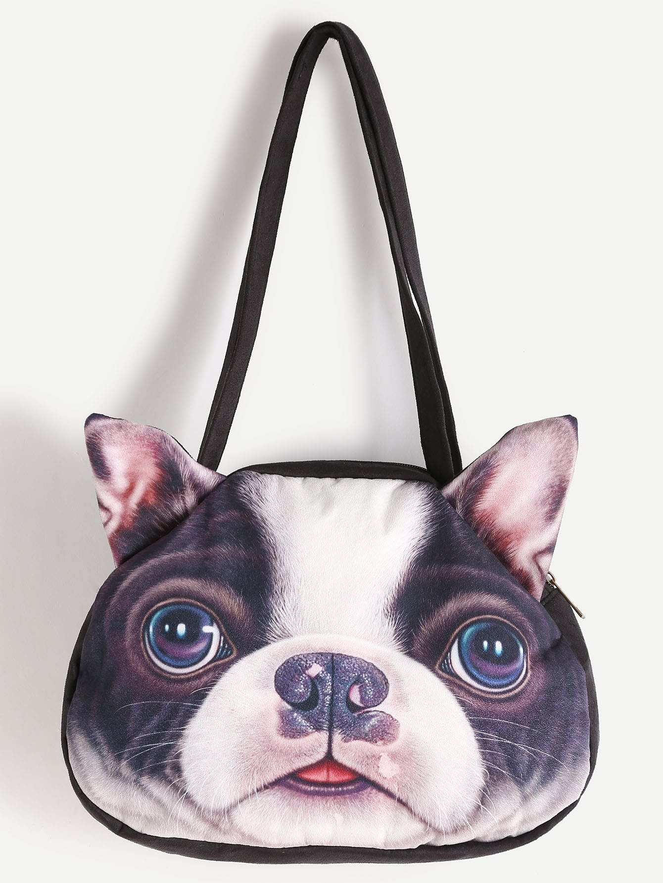 Dog Shaped Crossbody Bag