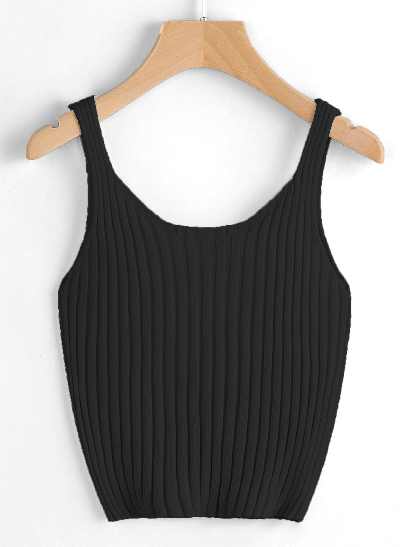Ribbed Knit Tank Top