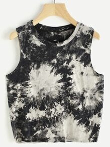 Water Color Tank Top