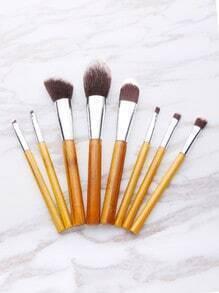Set brocha de maquillaje de la cerda
