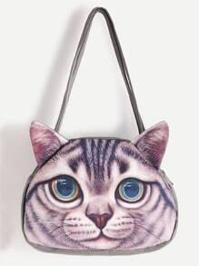 Buy Cat Shaped Cute Shoulder Bag