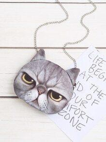 Buy Cat Shaped Crossbody Bag Chain