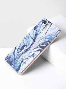 Water Wave Print iPhone 7 Plus Case