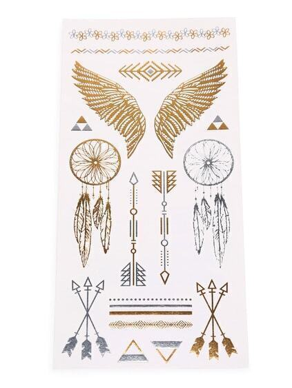 Dreamcatcher Tattoo Sticker
