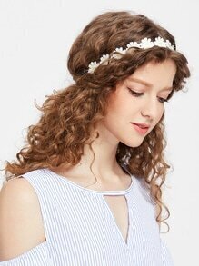 Daisy Hair Garland
