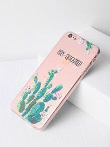Kaktusmuster iPhone 6 Plus/6s Plus Case