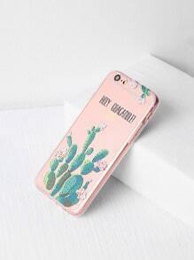 Kaktusmuster iPhone 6/6s Case