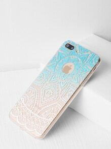 Ombre Print Clear iPhone 7 Plus Case