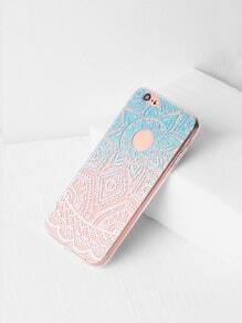 Ombre Print Clear iPhone 6/6s Case