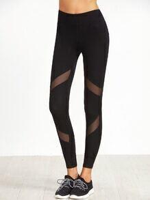 Skinny Leggings -schwarz