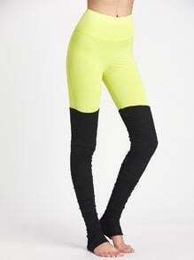 Active Color Block Yoga leggings