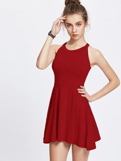 Empire Waist Circle Dress