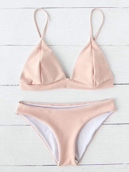 Triangle Beach Bikini Set